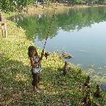 nice lake for fishing