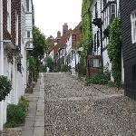 Mermaid Street in Rye.