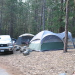 picture of our campsite #98