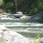 the merced river near our site