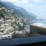 View from my son's balcony in Positano!