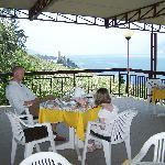 Terrace for breakfast or drinks