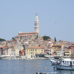Rovinj from the ferry