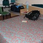 Geräumige Betten für französische Verhältnisse
