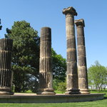 Pillars at Pioneers Park