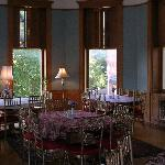 One of the dining areas
