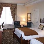 Room 312 offers grandeur and space