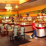 Fun food islands buffet gauntlet