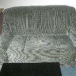 el sillón... era aún peor que en la foto