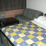 cama y sillón