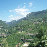 View from the Bijela Tabija terrace
