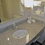 Sink with real granite!