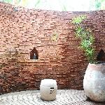 Beautiful outdoor shower (villa #44)
