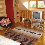 Bonus TV room upstairs