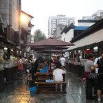 snack street in Hangzhou
