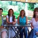 girls on tour in tuscany summer 08