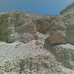 Steinböcke am Schlangenpfad nach Masada