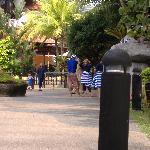 pool arrea awana golf,beach and spa resort kijal