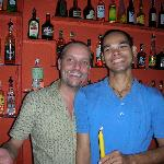 Jonno & Joe from the Funky Chill-out bar