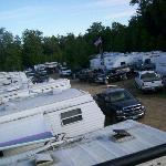 NHMS Camping- View from the Monster Bus