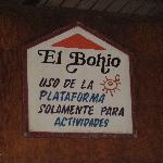 El Bohio sign