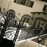La Posada, Rt. 66 entrance