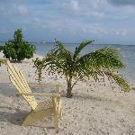 The private Bondo Beach, snockling included
