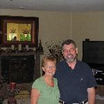 Maureen and Warner, our excellent hosts