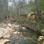 Cabins on the creek