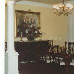 The dining room as you come in to the lobby