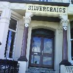 The front entrance at Silvercraigs