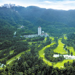 genting highlands resort aerial view