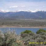 The Sangre de Cristo Mountains near San Luis, CO (oops! date on photo is wrong, picture from May