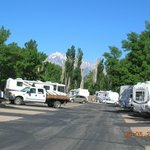 Sierra view from Highlands RV Park