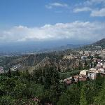 View on Taormina from 306