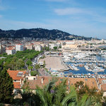 Cannes from the Castle