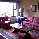 Living Room in villa apartment 107