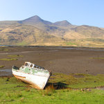 Old boat on Mull