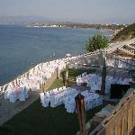 griechische Hochzeit - unser Speisesaal