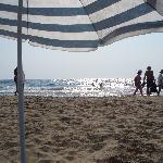 wunderbarer Sandstrand 30 Min mit Auto vom Hotel entfernt, fast nur Griechen, Naturschutzgebiet