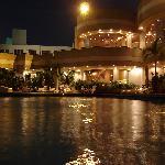 Smming Pool at night