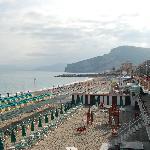 beach at Finale Ligure