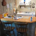 Nice little cabin kitchen nook