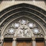 close up external facade