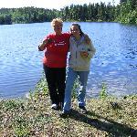 Einer der tausenden von Seen auf unserem Weg nach Alaska