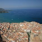 Cefalu costline and beaches