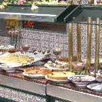 buffet des desserts
