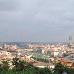 View of Florence from Piazelle Michelangelo
