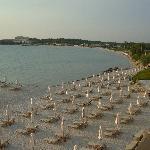 view from Sani Beach Club