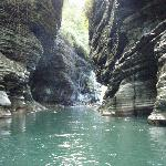 The Navua River Canyon